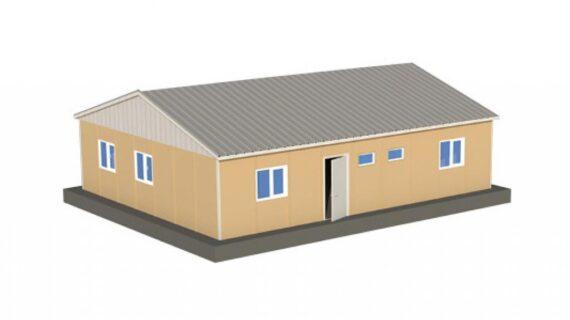 102 m2 Prefabrik Ofis