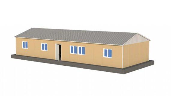 114 m2 Prefabrik Ofis