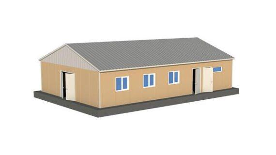 124 m2 Prefabrik Yemekhane