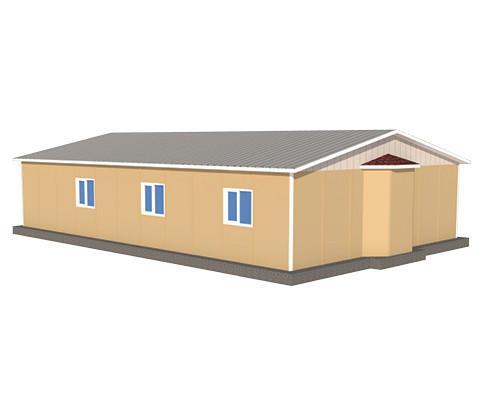 125 m2 Prefabrik Mescid Binası