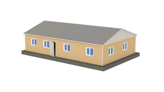 125 m2 Prefabrik Ofis