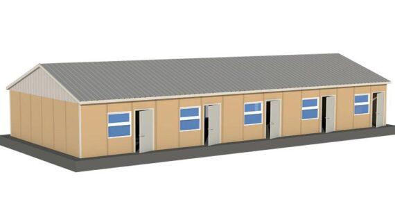 143 m2 Prefabrik Yatakhane
