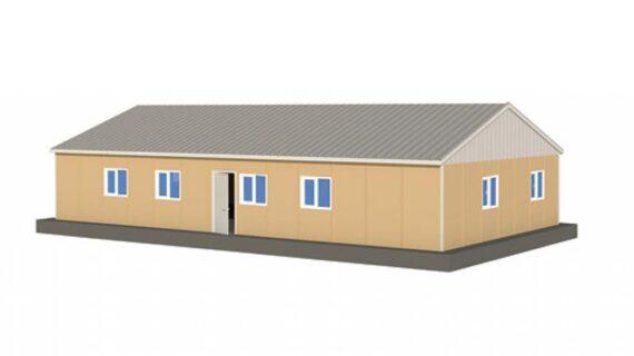 147 m2 Prefabrik Ofis