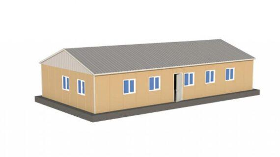 158 m2 Prefabrik Ofis