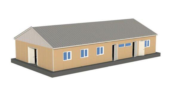 158 m2 Prefabrik Yemekhane