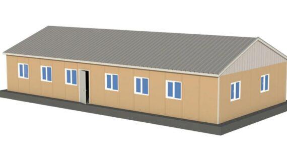 169 m2 Prefabrik Ofis