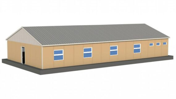 170 m2 Prefabrik Yatakhane