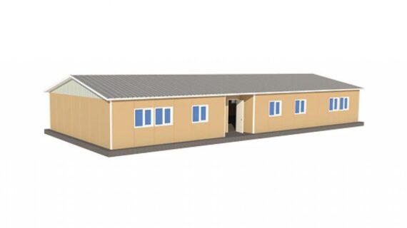 193 m2 Prefabrik Ofis