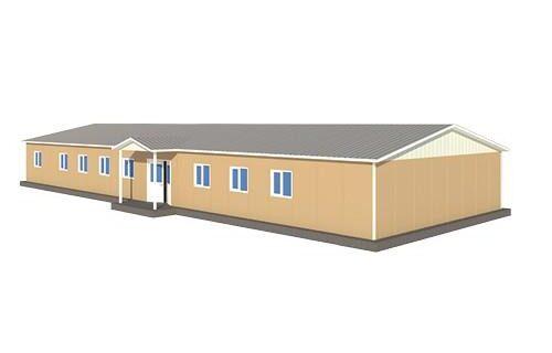 301 m2 Prefabrik Sağlık Ocağı Binası