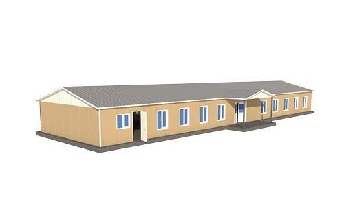 304 m2 Prefabrik Sosyal Tesis Binası