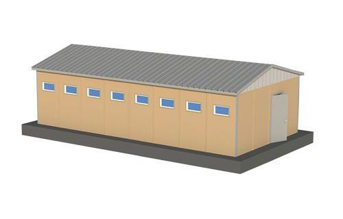 52 m2 Prefabrik WC Duş