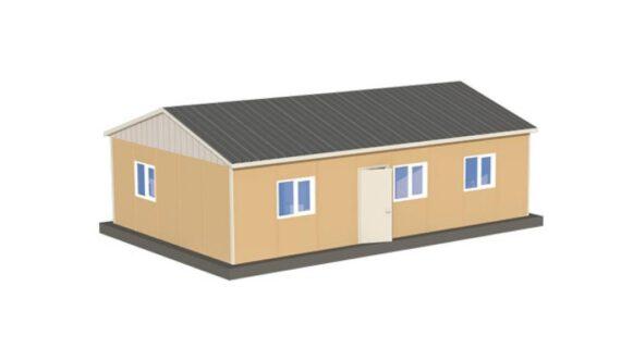 78 m2 Prefabrik Ofis