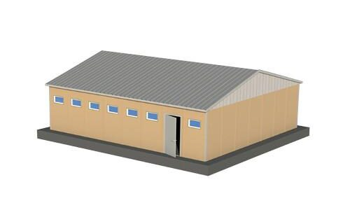 78 m2 Prefabrik WC Duş