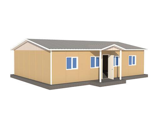 91 m2 Prefabrik Sağlık Ocağı Binası