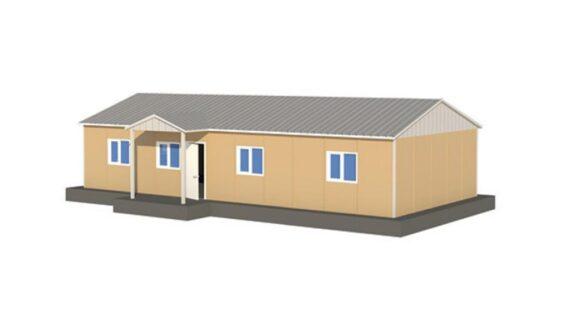 92 m2 Prefabrik Ofis